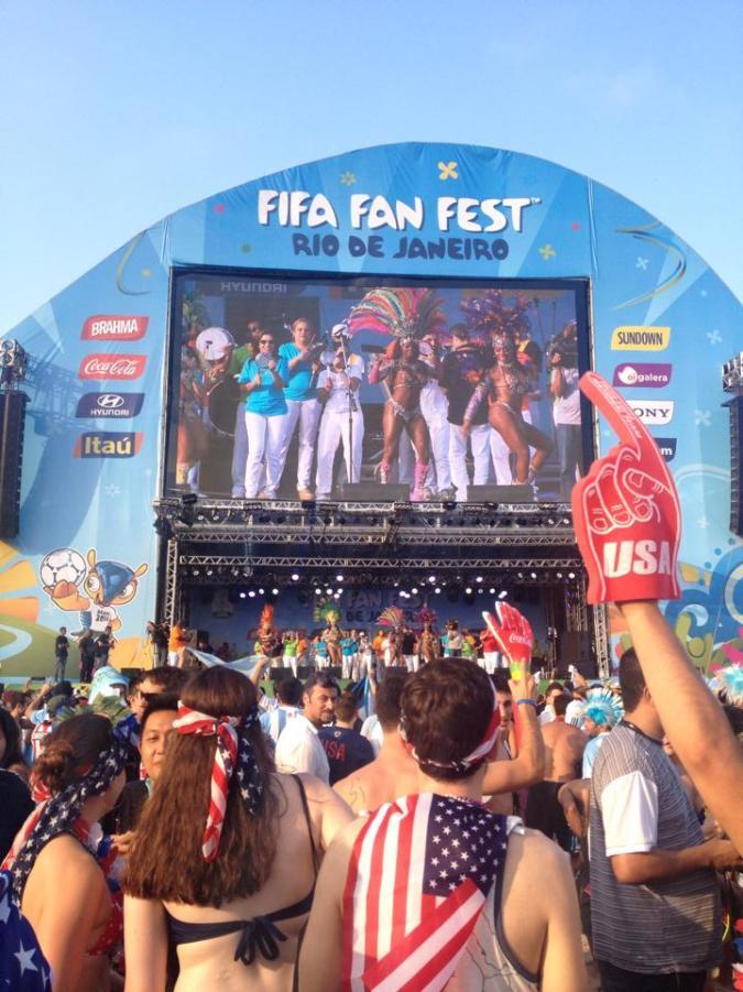 The Rio de Janeiro FIFA Fan Fest